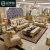 爱梦娅 欧式真皮沙发 别墅奢华雕花实木123组合客厅家具高档豪华