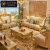 伯加德 欧式真皮沙发123组合客厅大户型别墅整装奢华豪华实木家具